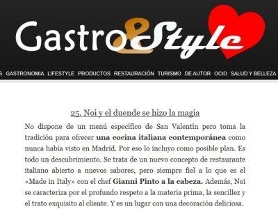 Noi en Gastro Y Style (11.02.2020)